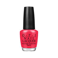 Лак для ногтей OPI Nail Lacquer Classic Collection L72 (Цвет L72 OPI Red variant_hex_name EE2C4C)