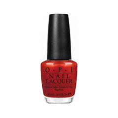 Лак для ногтей OPI Nail Lacquer Germany Collection G15 (Цвет G15 Deutsch You Want Me Baby? variant_hex_name B62029) лак для ногтей opi holland collection h63 цвет h63 vampsterdam variant hex name 3a122a