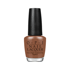Лак для ногтей OPI Nail Lacquer Nordic Collection N40 (Цвет N40 Ice-Bergers  Fries variant_hex_name 88563D)