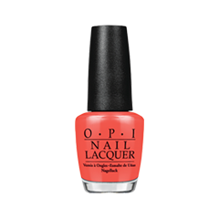 Лак для ногтей OPI Nail Lacquer Nordic Collection N43 (Цвет N43 Cant aFjord Not To variant_hex_name EE564B)