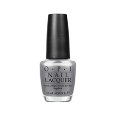 Лак для ногтей OPI Nail Lacquer San Francisco Collection F55 (Цвет F55 Havent the Foggiest variant_hex_name 98989A)