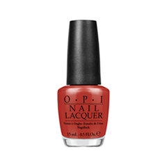 Лак для ногтей OPI Nail Lacquer San Francisco Collection F64 (Цвет F64 First Date at the Golden Gate variant_hex_name 9F2325)