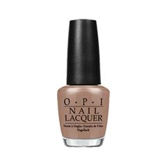 Лак для ногтей OPI Bright Pair Collection NLB85 (Цвет NLB85 Over the Taupe variant_hex_name A7806E)