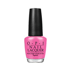 Лак для ногтей OPI Bright Pair Collection NLB86 (Цвет NLB86 Shorts Story variant_hex_name F265A5)
