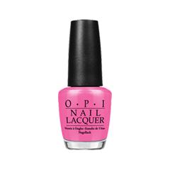 Лак для ногтей OPI Bright Pair Collection NLB86 (Цвет NLB86 Shorts Story variant_hex_name F265A5)
