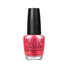 Лак для ногтей OPI Brights 2015 Collection NLA72 (Цвет NLA72 Can't Hear Myself Pink! variant_hex_name D63551)