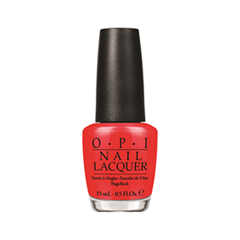Лак для ногтей OPI Brights 2015 Collection NLA74 (Цвет NLA74 I Stopfor Red variant_hex_name E43530)