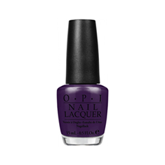 Лак для ногтей OPI Nail Lacquer Euro Centrale Collection NLE80 (Цвет NLE80 Vant to Bite My Neck? variant_hex_name 371B46)