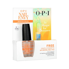 Набор для маникюра OPI Промо набор In Shape for Summer. Nail Envy for Sensetive