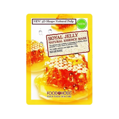 Тканевая маска FoodaHolic Royal Jelly Essence 3D Mask (Объем 23 г)