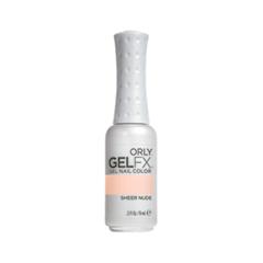 Гель-лак для ногтей Orly Gel FX 479 (Цвет 479 Sheer Nude variant_hex_name FBD6C4) гель лак для ногтей orly gel fx 479 цвет 479 sheer nude variant hex name fbd6c4