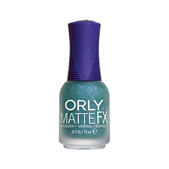Лак для ногтей Orly Matte FX Collection 814 (Цвет 814 Green Flakie Topcoat variant_hex_name 8BC6A2) лак для ногтей orly matte fx collection 811 цвет 811 iron butterfly variant hex name 302e2e