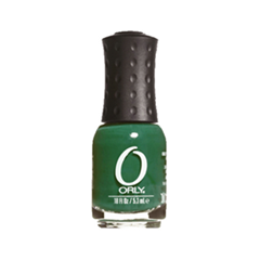 Лак для ногтей Orly Mini Collection 728 (Цвет 728 Lucky Duck variant_hex_name 034424)