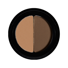 Тени для бровей Senna Cosmetics Brow Shaper Duo Brunette Duo (Цвет Brunette Duo variant_hex_name 6B4E3A)