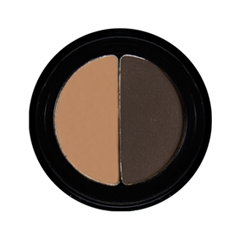 Тени для бровей Senna Cosmetics Brow Shaper Duo Ebony Duo (Цвет Ebony Duo variant_hex_name 443630)