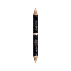 ��������� Senna Cosmetics Light Tricks Highlight Duo 01 (���� 01 Champagne & Matte Vanilla)