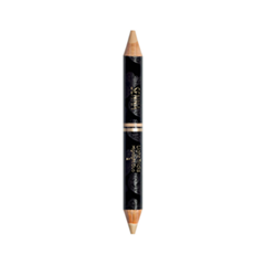 Хайлайтер Senna Cosmetics Light Tricks Highlight Duo 02 (Цвет 02 Golden Pearl  Matte Beige variant_hex_name DCB99B)