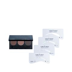 Набор для бровей Senna Cosmetics Набор для коррекции бровей Form-A-Brow Eyebrow Stencil Kit Natural (Цвет Natural variant_hex_name DDD1C3)