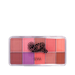 Для лица Senna Cosmetics Slipcover Cream to Powder Blush Palette 02 (Цвет 02 Cheeky Blush Matte Vivid variant_hex_name FD9287)
