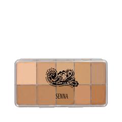 ��� ���� Senna Cosmetics Slipcover Cream to Powder Palette Foundation 01 (���� 01 Light-Medium)