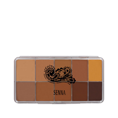 Для лица Senna Cosmetics Slipcover Cream to Powder Palette Foundation 02 (Цвет 02 Medium-Dark variant_hex_name AC704B)