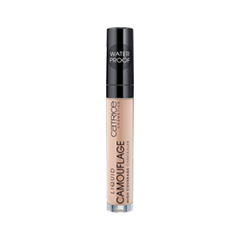 Консилер Catrice Liquid Camouflage - High Coverage Concealer 020 (Цвет 020 Light Beige variant_hex_name EED0B4) nyx professional makeup жидкий консилер для лица concealer wand nude beige 035