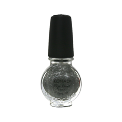Топы Konad Top Coat Glitter Silver (Объем 11 мл)
