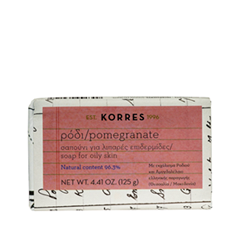 все цены на Мыло Korres Pomegranate Soap for Oily Skin (Объем 125 г) онлайн