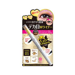 Подводка Meishoku Powder & Liquid Dramatic Eyeliner (Цвет Black+Brown variant_hex_name 231816)
