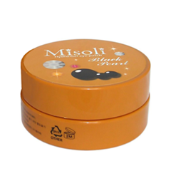 ����� ��� ���� Misoli Hydrogel Eye Patch Black Pearl