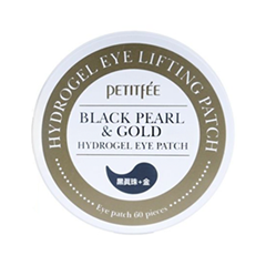 Патчи для глаз Petitfee Black Pearl & Gold Hydrogel Eye Patch патчи для глаз limoni premium syn ake gold hydrogel eye patch объем 60 шт