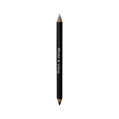 Карандаш для глаз Just Make Up Вlack  White  Eyeliner Pencil  711 (Цвет 711 variant_hex_name 222023)