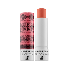 Цветной бальзам для губ Korres Mandarin Lip Butter Stick Pink (Цвет Pink variant_hex_name EDA09A)