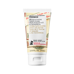 Крем для рук Korres Moisturising Hand Cream with Almond Oil & Calendula (Объем 75 мл) шампунь korres shampoo almond