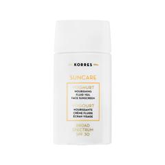 ������ �� ������ Korres Suncare Yoghurt Nourishing Fluid Veil Face Sunscreen Broad Spectrum SPF 30 (����� 40 ��)