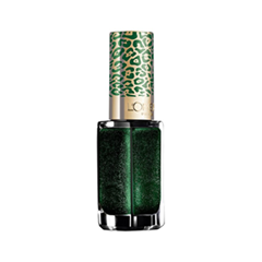 Лаки для ногтей с эффектами L'Oreal Paris Color Riche. New Year 2015 Collection 423 (Цвет 423 Дикая кошка variant_hex_name 1A3524)