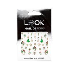 Дизайн ногтей nailLOOK Наклейки для ногтей Елочки и снежинки