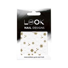 Дизайн ногтей nailLOOK Наклейки для ногтей Снежинки и снеговики