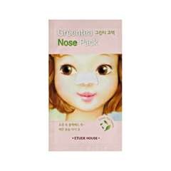 Патчи для носа Etude House Green Tea Nose Pack (Объем 0,65 мл) etude house soft touch