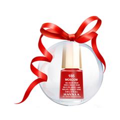 Лак для ногтей Mavala Новогодний шар с лаком для ногтей Moscow/X-Mas Bubble лак для ногтей тон 157 blush pink mavala