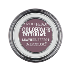 Тени для век Maybelline New York EyeStudio Color Tattoo 97 (Цвет Сливовый десерт №97 variant_hex_name 806F75)