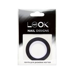Дизайн ногтей nailLOOK Лента Striping Tape Черная