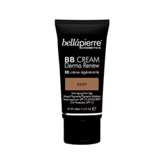 BB крем Bellápierre Derma Renew BB Cream Deep (Цвет Deep variant_hex_name A16B49) bb крем bellápierre derma renew bb cream medium цвет medium variant hex name d7a278