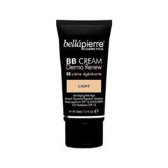 BB крем Bellápierre Derma Renew BB Cream Light (Цвет Light variant_hex_name E8BC99) bb крем bellápierre derma renew bb cream medium цвет medium variant hex name d7a278