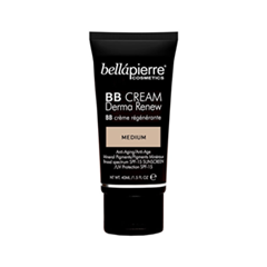 BB крем Bellápierre Derma Renew BB Cream Medium (Цвет Medium  variant_hex_name D7A278) bb крем l a girl pro bb cream hd beauty balm light medium цвет light medium variant hex name cf976d