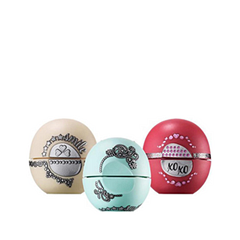 ������� ��� ��� EOS Smooth Sphere Multipack 3-Pack Lip Balm Holiday 2015 Limited Edition