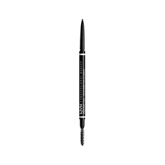 Карандаш для бровей NYX Professional Makeup Micro Brow Pencil 07 (Цвет 07 Espresso variant_hex_name 493F36) nyx professional makeup консилер для лица concealer jar deep espresso 095
