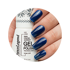 Гель-лак для ногтей Dance Legend Gel Polish Evening Time 10 (Цвет 10 My December variant_hex_name 00153C)