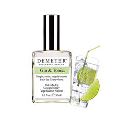 Одеколон Demeter Джин-тоник (Gin  Tonic) (Объем 30 мл)