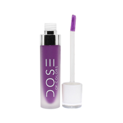 Жидкая помада Dose of Colors Matte Liquid Lipstick Purple Rain (Цвет Purple Rain variant_hex_name 7B1791)